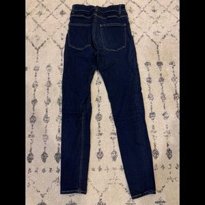 Women's high wasted jean